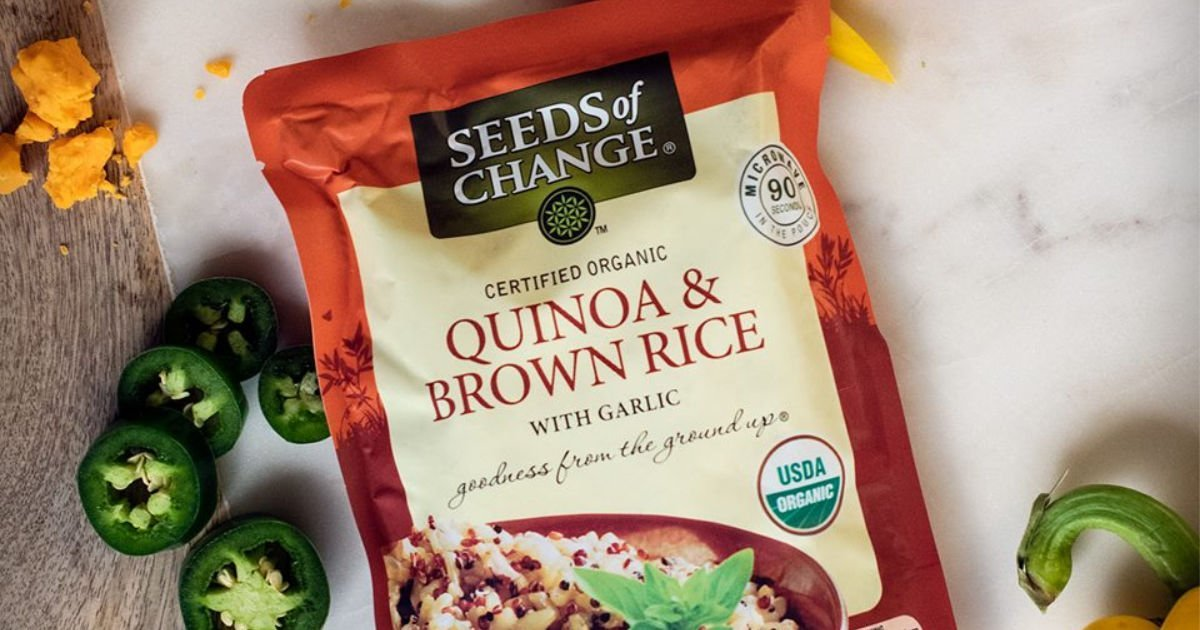 FREE Seeds of Change Organic Quinoa & Brown Rice