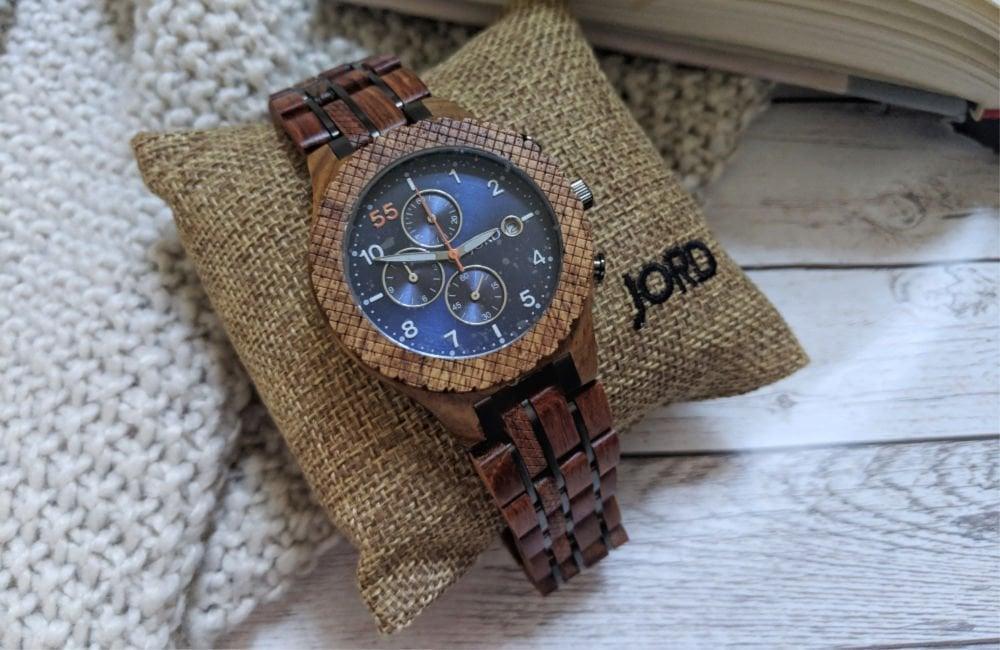 JORD wood watch, men's