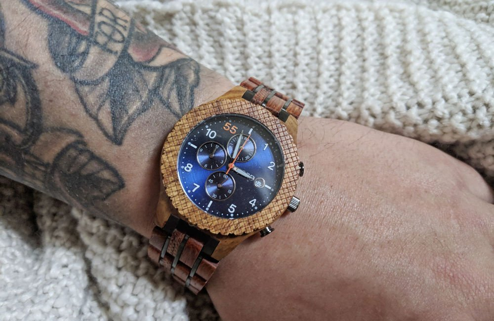 JORD men's wood watch conway - gifts for long distance relationship