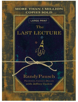 The Last Lectureby Randy Pausch