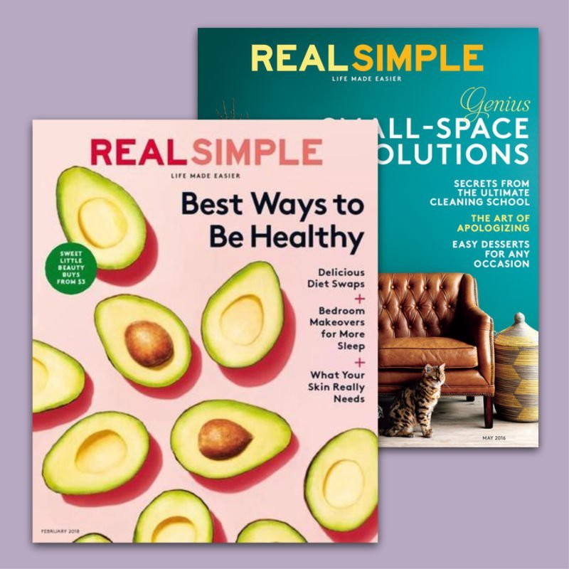 free subscription to real simple magazine