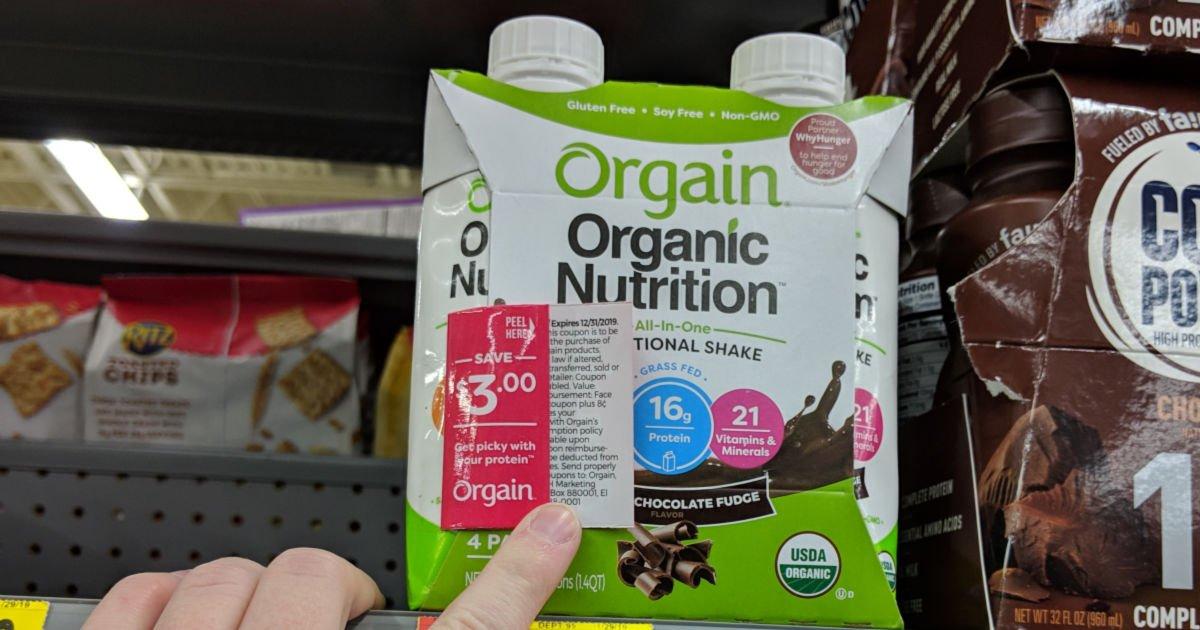 orgain nutrition shakes walmart
