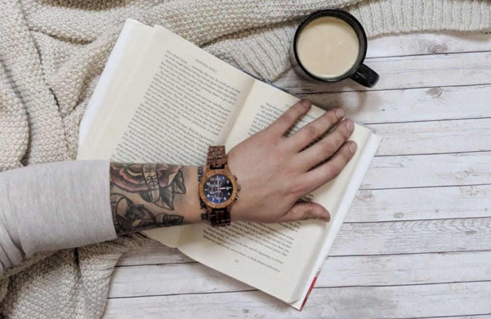 watch on wrist - gift boyfriend long distance