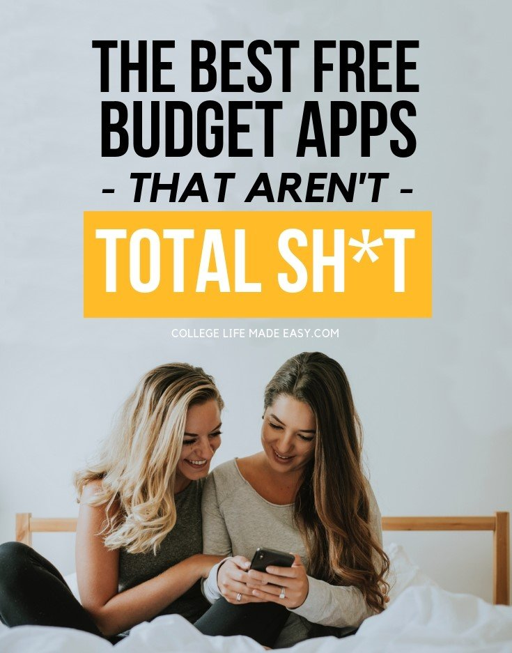 Take control of your finances this year by tracking your money with one of the best budget apps for 2019! They're even free to use, work on iPhone and Android phones. See them all on this up-to-date list! #budget #budgeting #frugal #apps #bestapps #finance #personalfinance #money