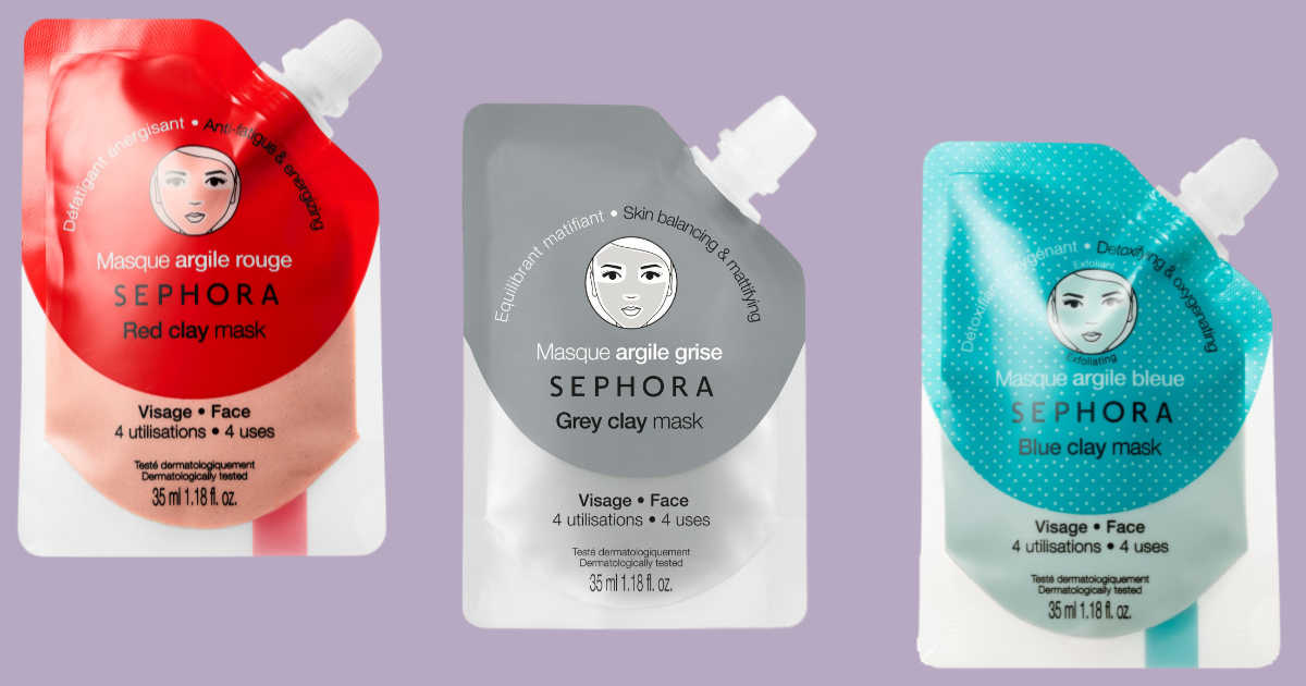 sephora collection clay mask free sample