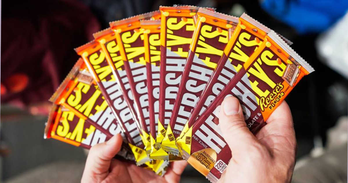 FREE Hershey's Reese's Pieces Candy Bar!