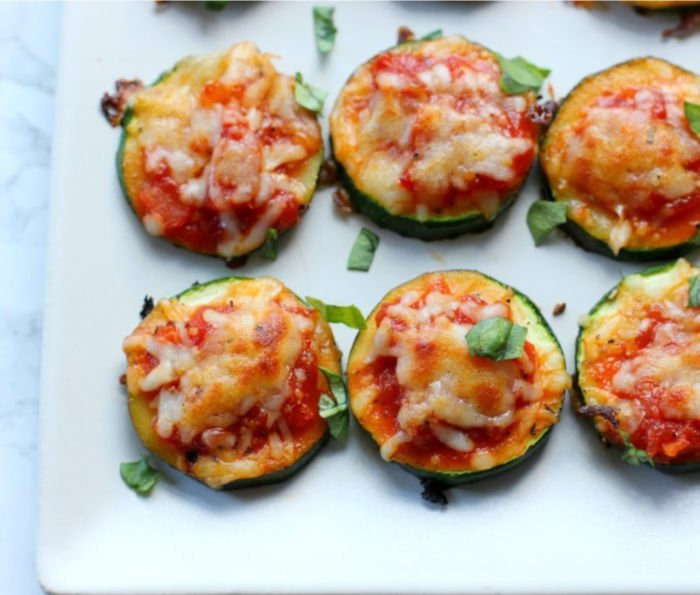 dinner ideas for college students - zucchini bites