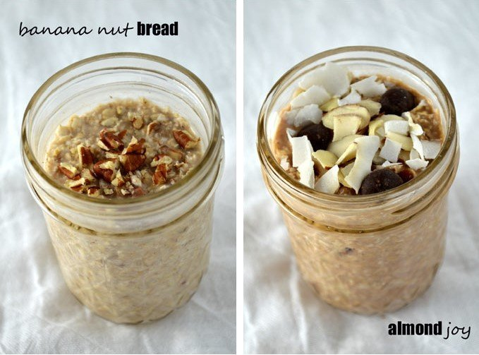 easy healthy recipes for college students - overnight oats