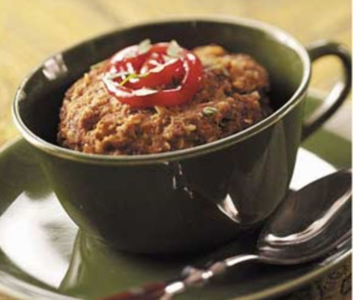 easy microwave meals for college student - meatloaf
