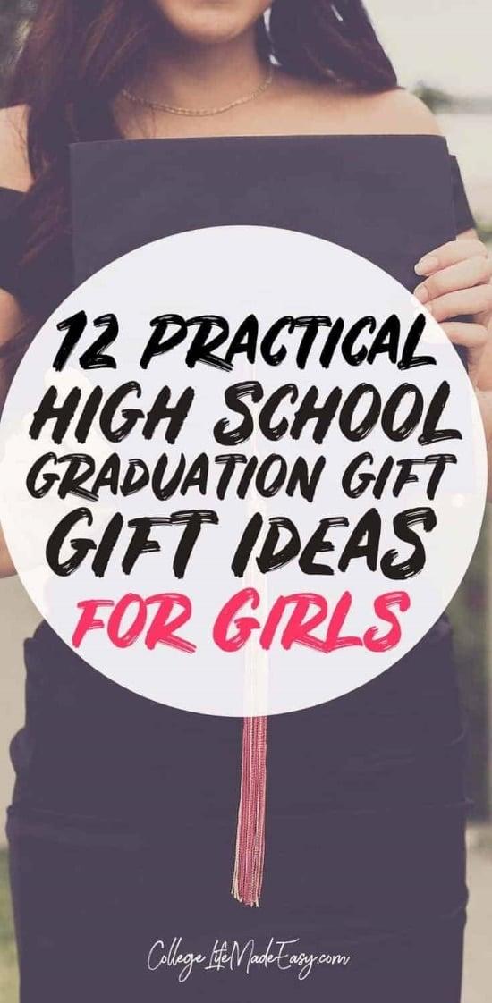 practical high school graduation gift ideas for girls Pinterest