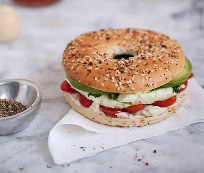 healthy meals for students - breakfast sandwich