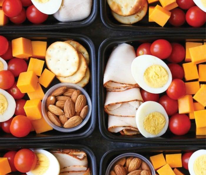 lunches for college - deli snack box