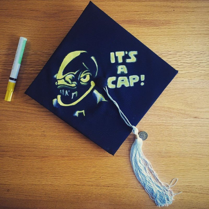 funny graduation movie quotes - it's a trap