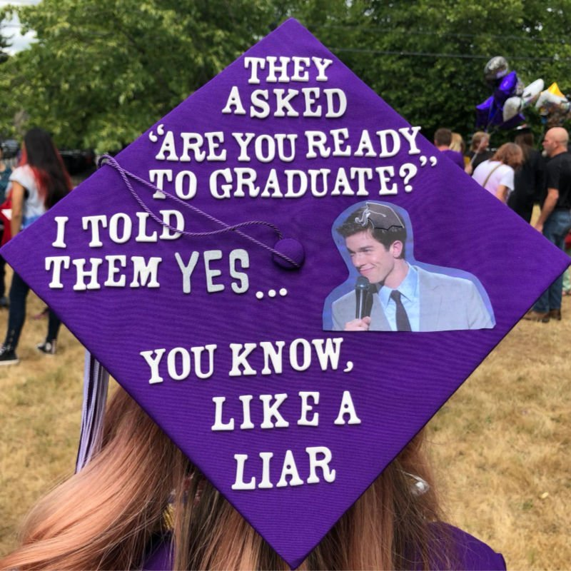 funny graduation quotes - john mulaney
