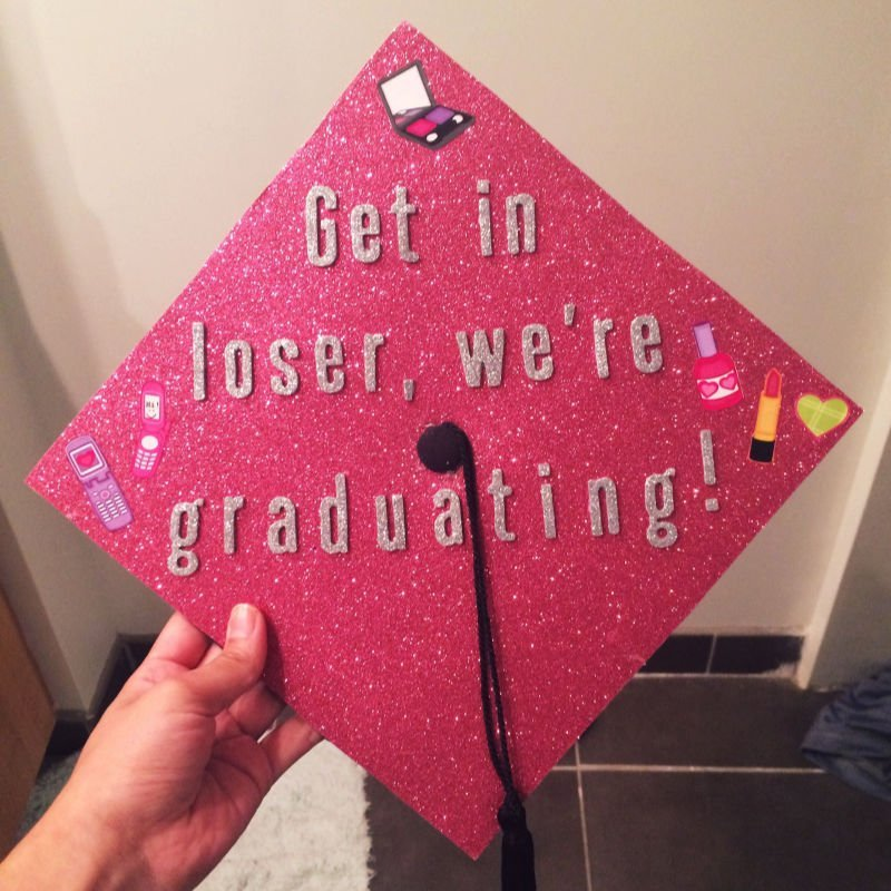 movie quotes for graduation cap - mean girls