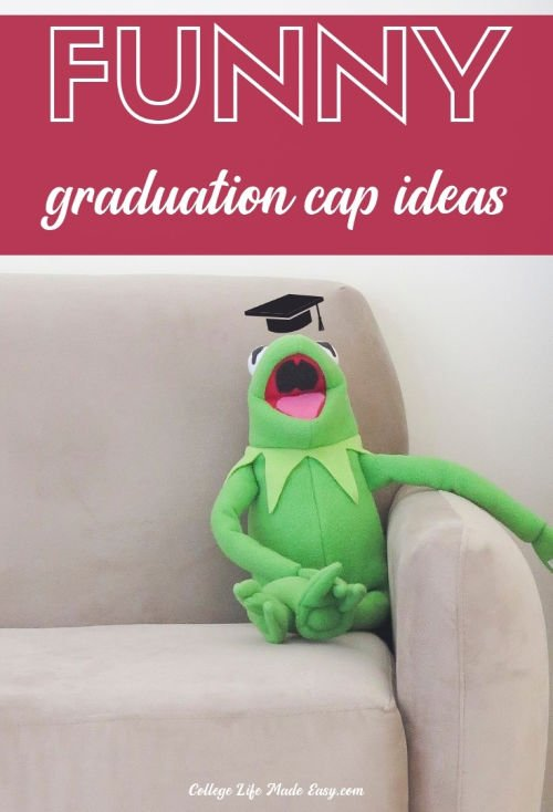 37 graduation caps ideas that are super funny and true to college life. The Office, Cats, Parks and Rec and more. Click to see all the hilarious decorations for college graduation! #funny #college #collegehumor #collegelol #lol #sotrue #grad #graduation #gradcap #gradcaps #graduationcap #studentlife #student #collegelife #collegegrad