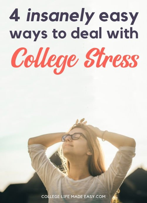 Feeling stressed and burnt out? Here are some of the quickest and easiest ways you can reduce college and school-related stress. #stress #stressmanagement #teens #college #collegelife #school #anxiety #burnout #burntout #student #studentlife #stressed