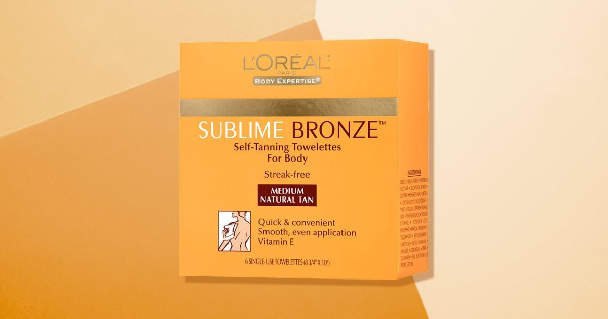 Sublime Bronze Self-Tanning Towelettes - FREE Sample