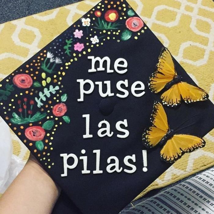 Mexican caps for graduation