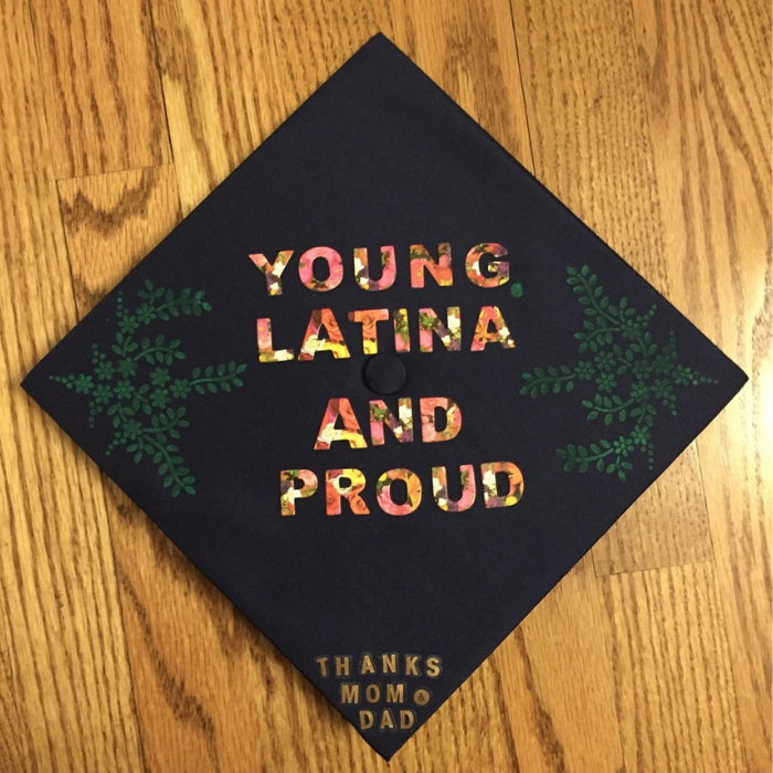 latina graduation cap ideas