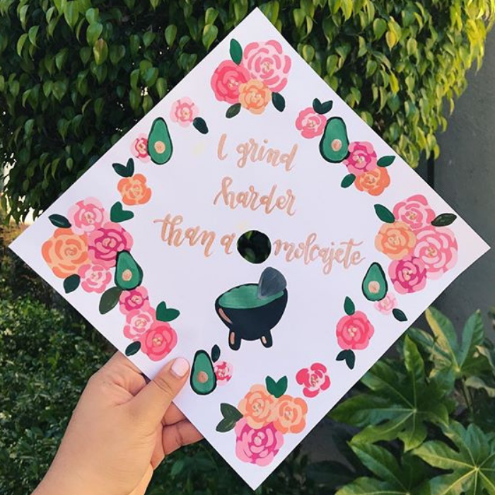 Mexican graduation caps