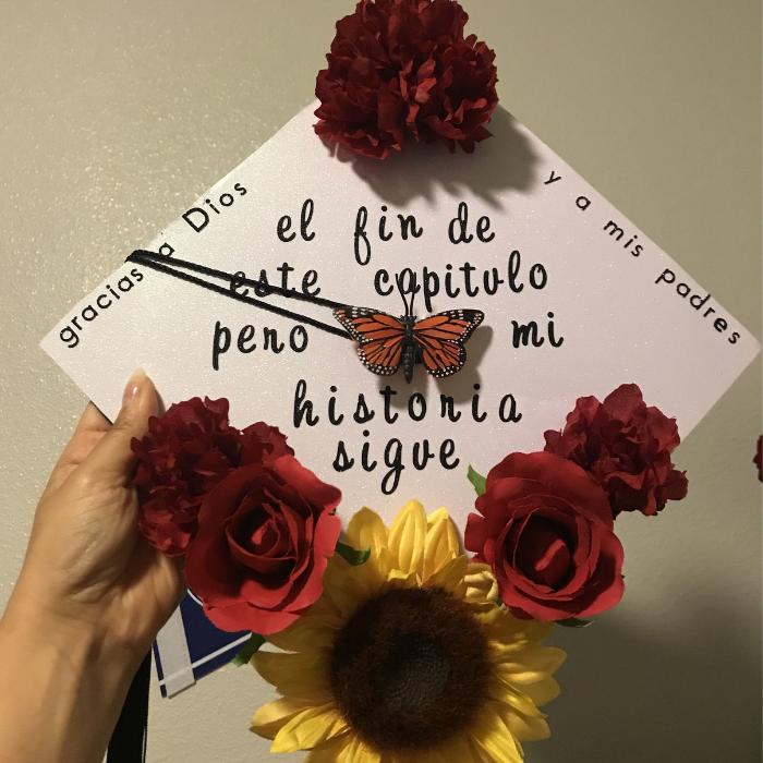 latina graduation cap ideas
