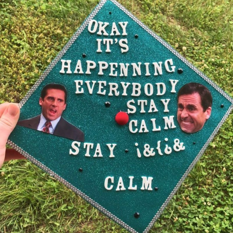 funny graduation cap decorations