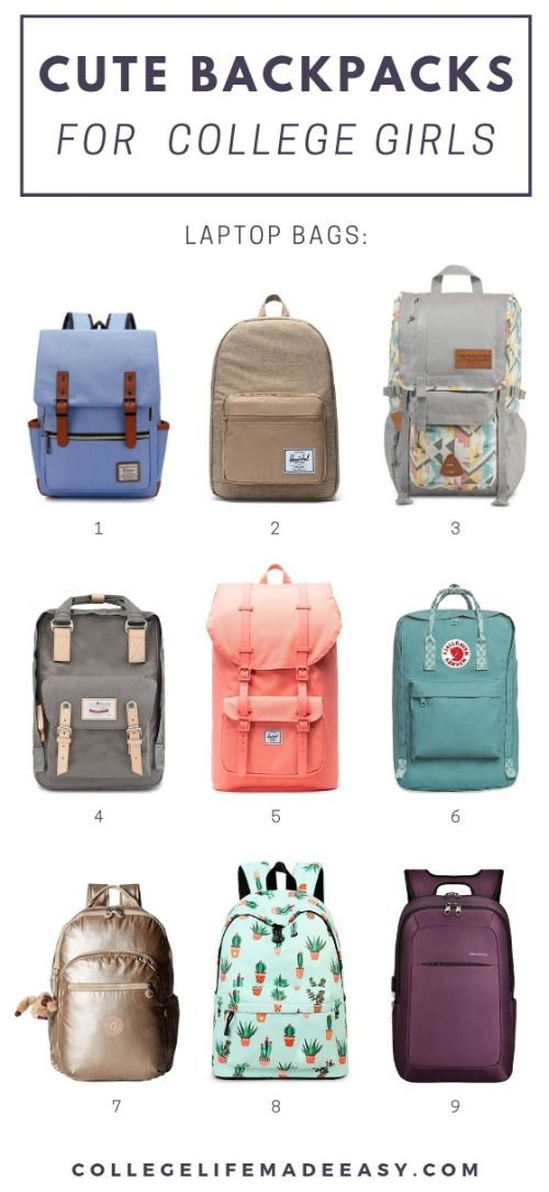 The Cutest Backpacks for College Girls (Available