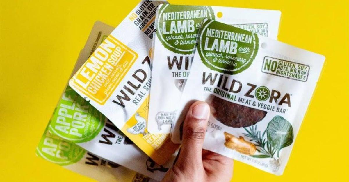 wild zora meat & veggie bars