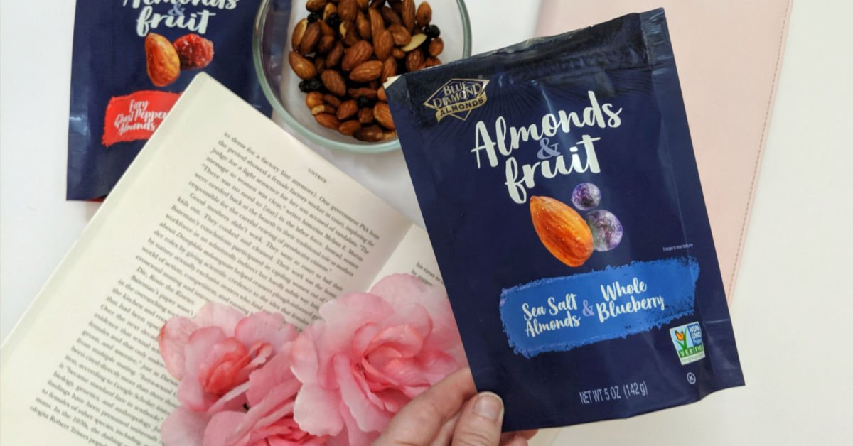 bag of blue diamond almonds & fruit sea salt and ghost pepepr