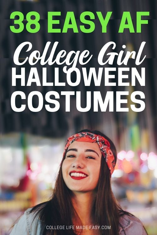38 easy af college girl halloween costumes
