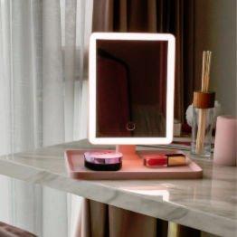 rectangular light up make up mirror