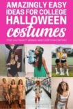 Amazingly easy ideas for college halloween costumes