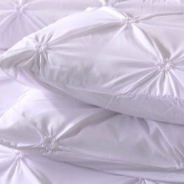 beautiful white satin twin xl bedding