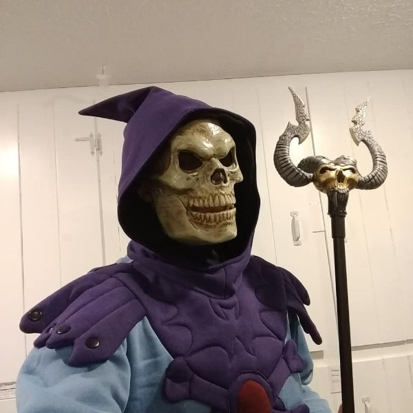 Skeletor Halloween costume idea
