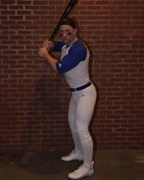 guy dressed as a baseball MVP