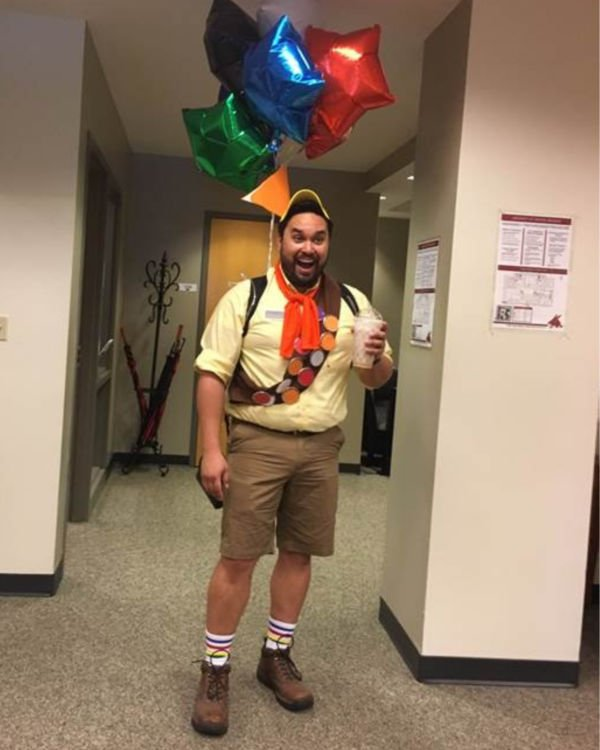 russel from UP guy costume for halloween