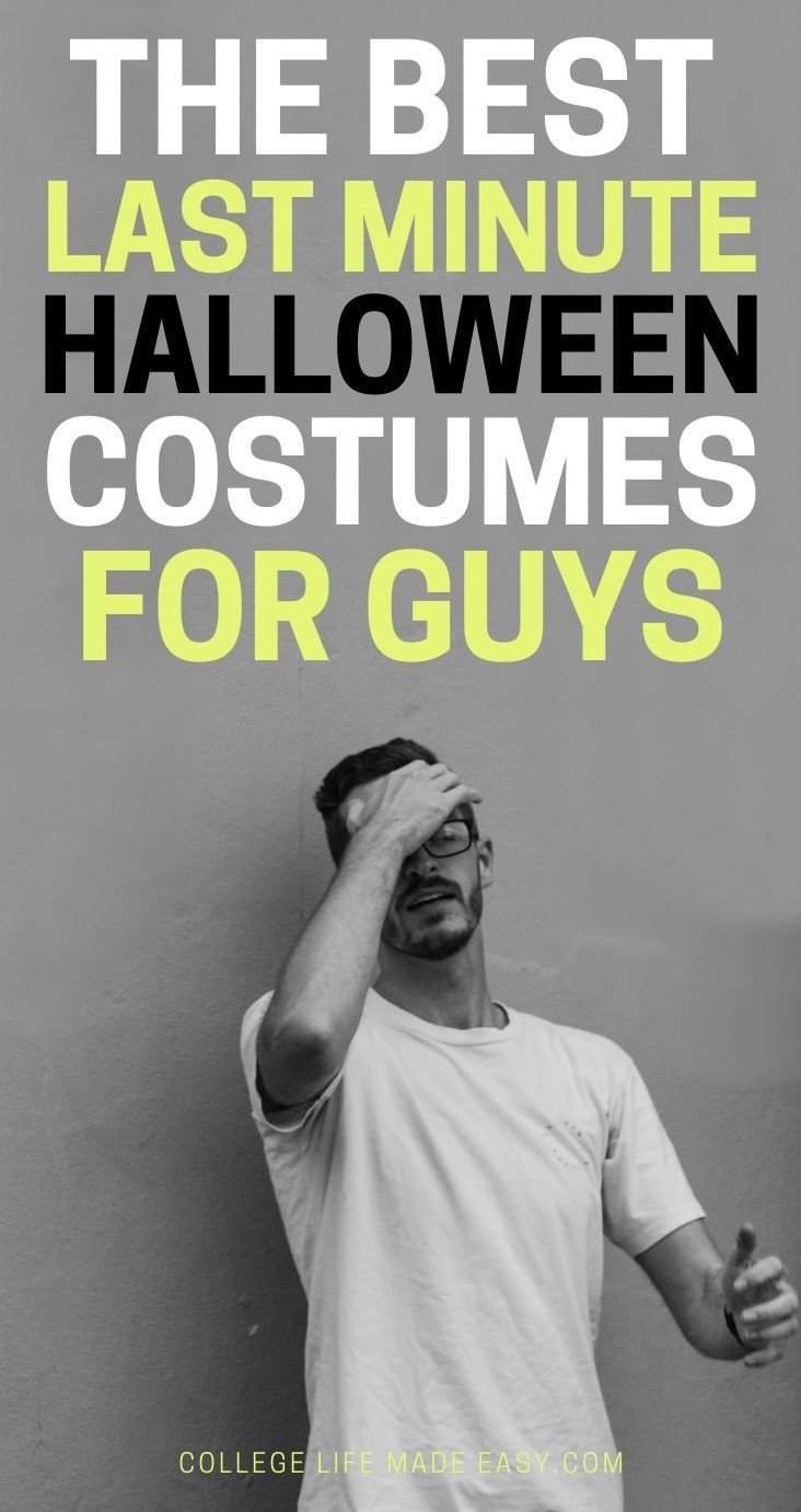the best last minute Halloween costumes for guys