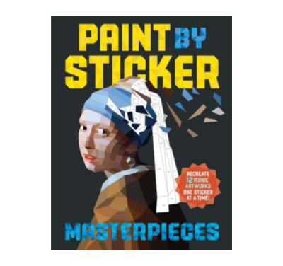 paint by sticker book gift idea