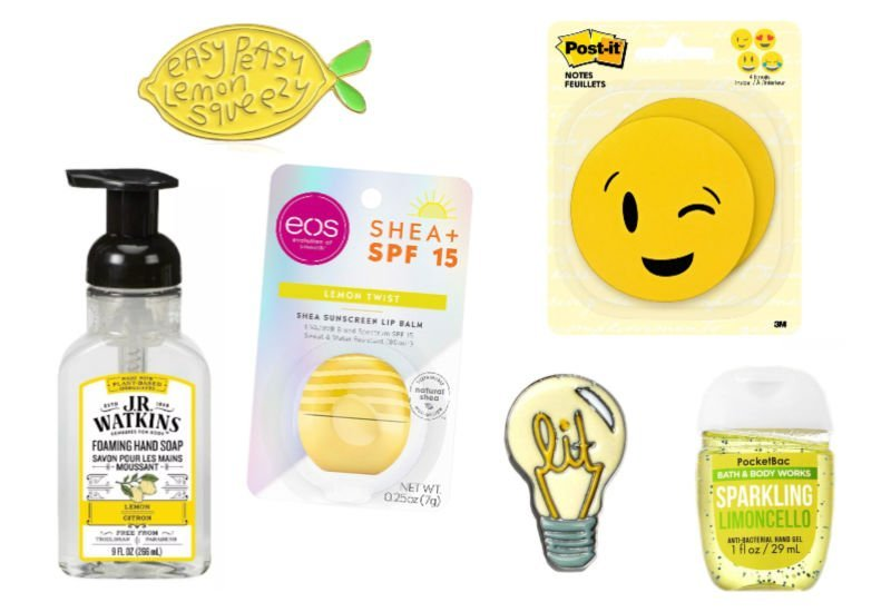 cheap yellow gifts for a box of sunshine