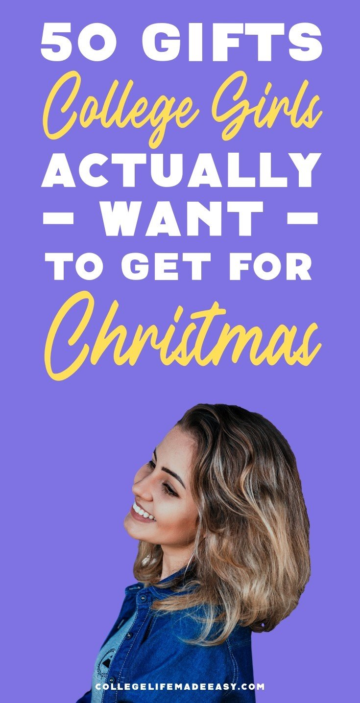Gifts College Girls actually want to get for Christmas this year Pinterest