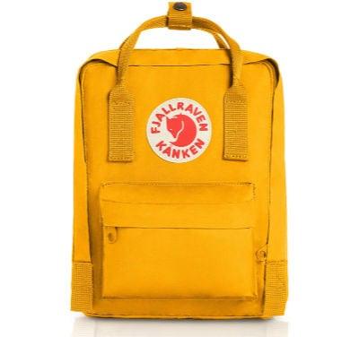 Fjallraven - Kanken Mini Classic Backpack in yellow