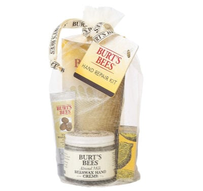 Burt's Bees gift set, example of a cheap gift idea for college girl
