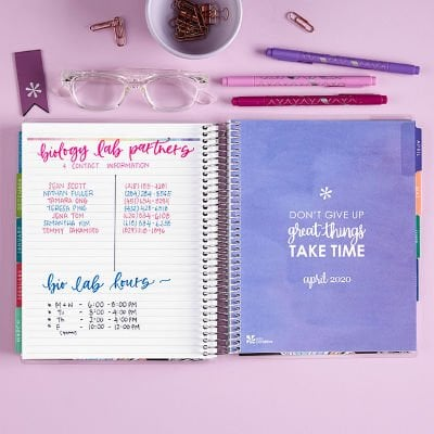student academic planners make goof gift ideas