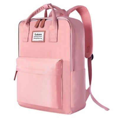 pink laptop backpack useful college gift idea