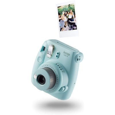 Fujifilm Instax MINI, ice blue - great gift idea for college student girls