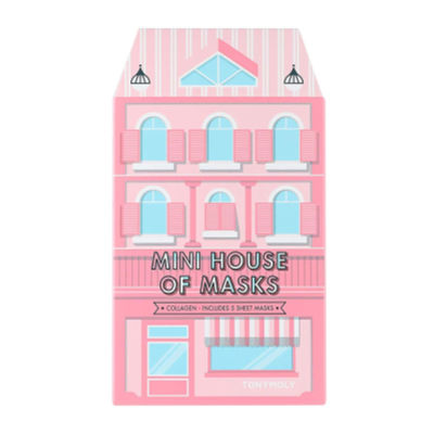 tonymoly mini house of sheet masks - cute stocking stuffer idea college students