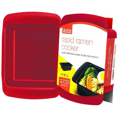 red rapid ramen cooker - gift idea for college kids