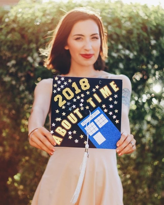 about time, dr who decoration made by a mom