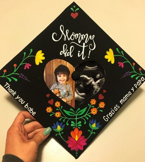 mommy did it decorated cap